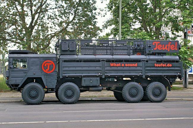 What A Sound Teufel Teufel Sound Truck Music Truck Music Is My Life Berliner Ansichten