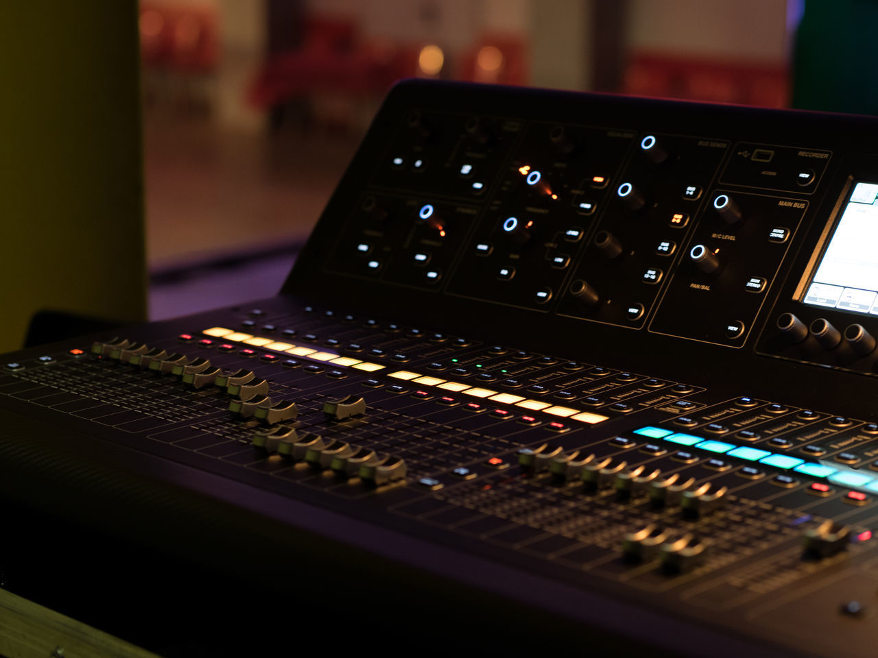 Close-up Day Indoors  Music No People Recording Studio Sound Mixer Sound Recording Equipment Stage Technology