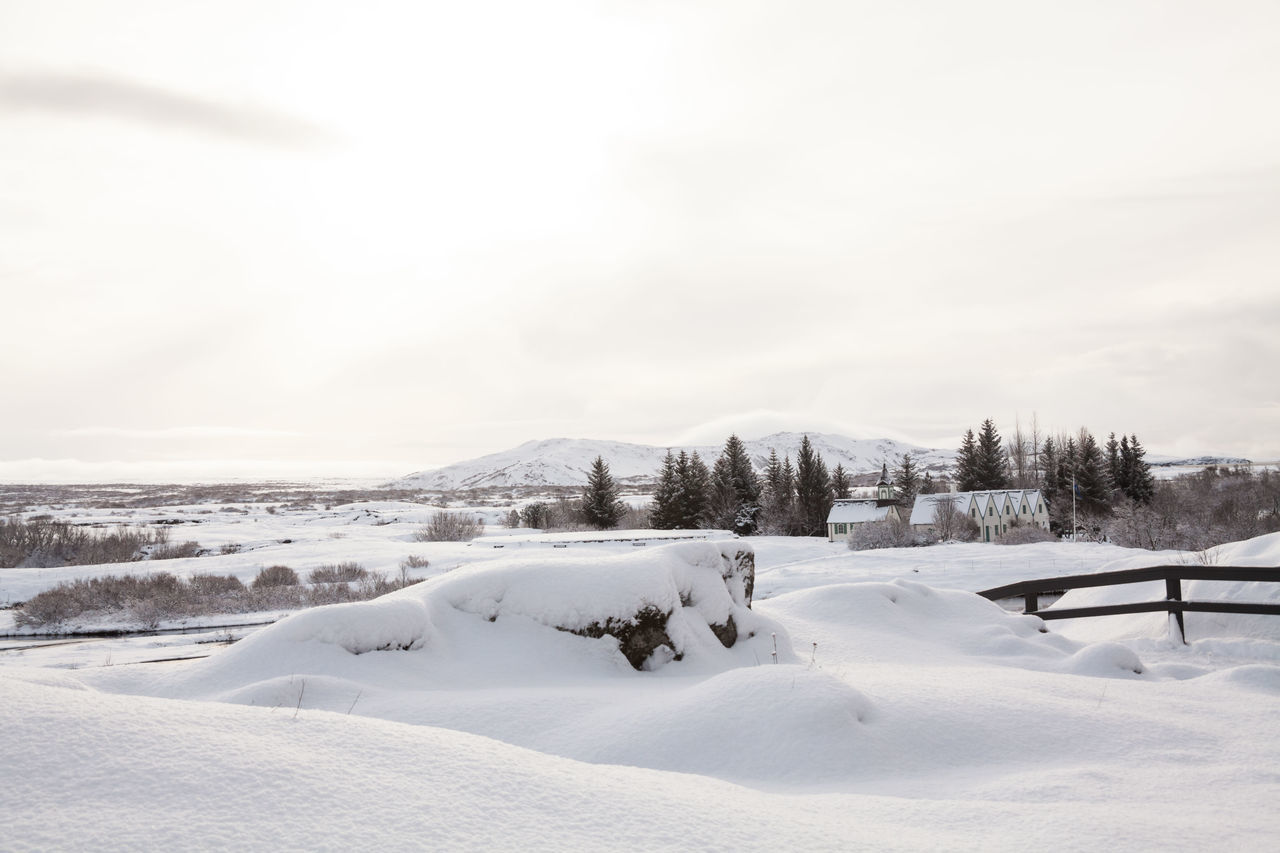 Thingvellir National Park or better known as Iceland pingvellir National Park during winter Beauty In Nature Cold Temperature Day Mountain Nature No People Outdoors Scenics Sky Snow Thingvellir Thingvellir National Park Thingvellir National Park Iceland Tranquil Scene Tranquility Weather White Color Winter þingvellir Þingvellir National Park Þingvellir National Park Iceland Snow Winter Þingvellir National Park, Iceland