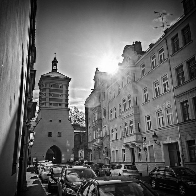 Sun Sonne HDR Bw Augsburg Hydra Photoshopexpress Rotestor