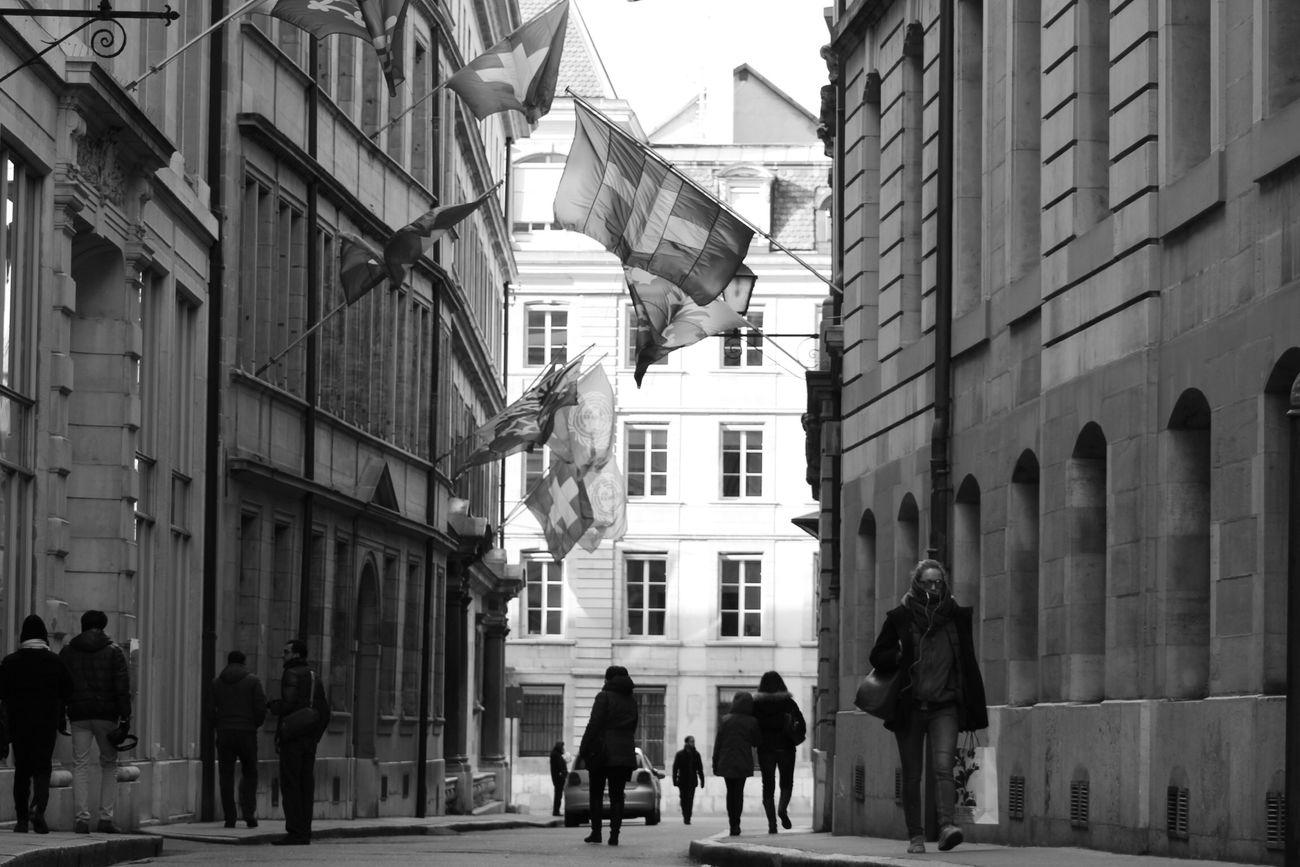 Geneva Geneve Blackandwhite B&w Monochrome Black & White