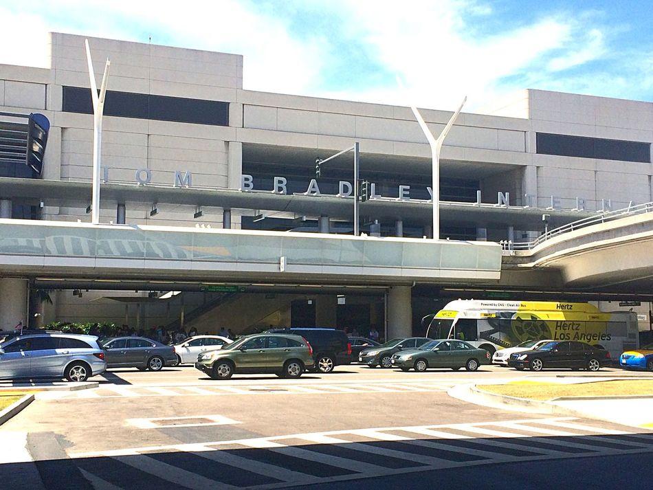 アメリカ カリフォルニア ロサンゼルス 空港 LAX トムブラッドリー