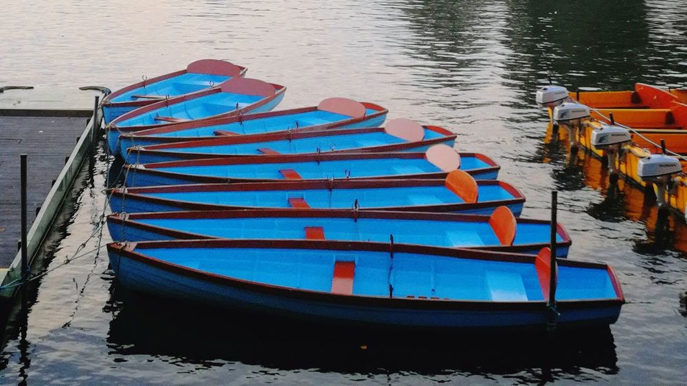 Windsor Berkshire Boats⛵️ Reflection Colours Water Day The Week On EyeEm Mobility In Mega Cities
