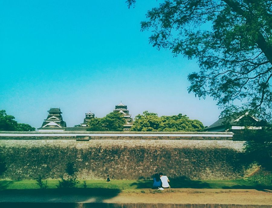 kumamoto castle Landscape Hanging Out IPhoneography