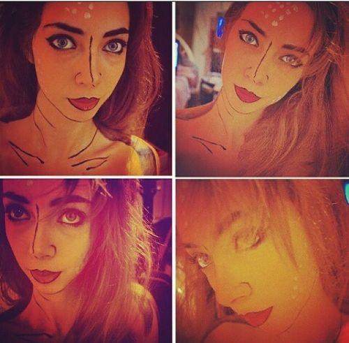 Makeup Comics Wonderwoman