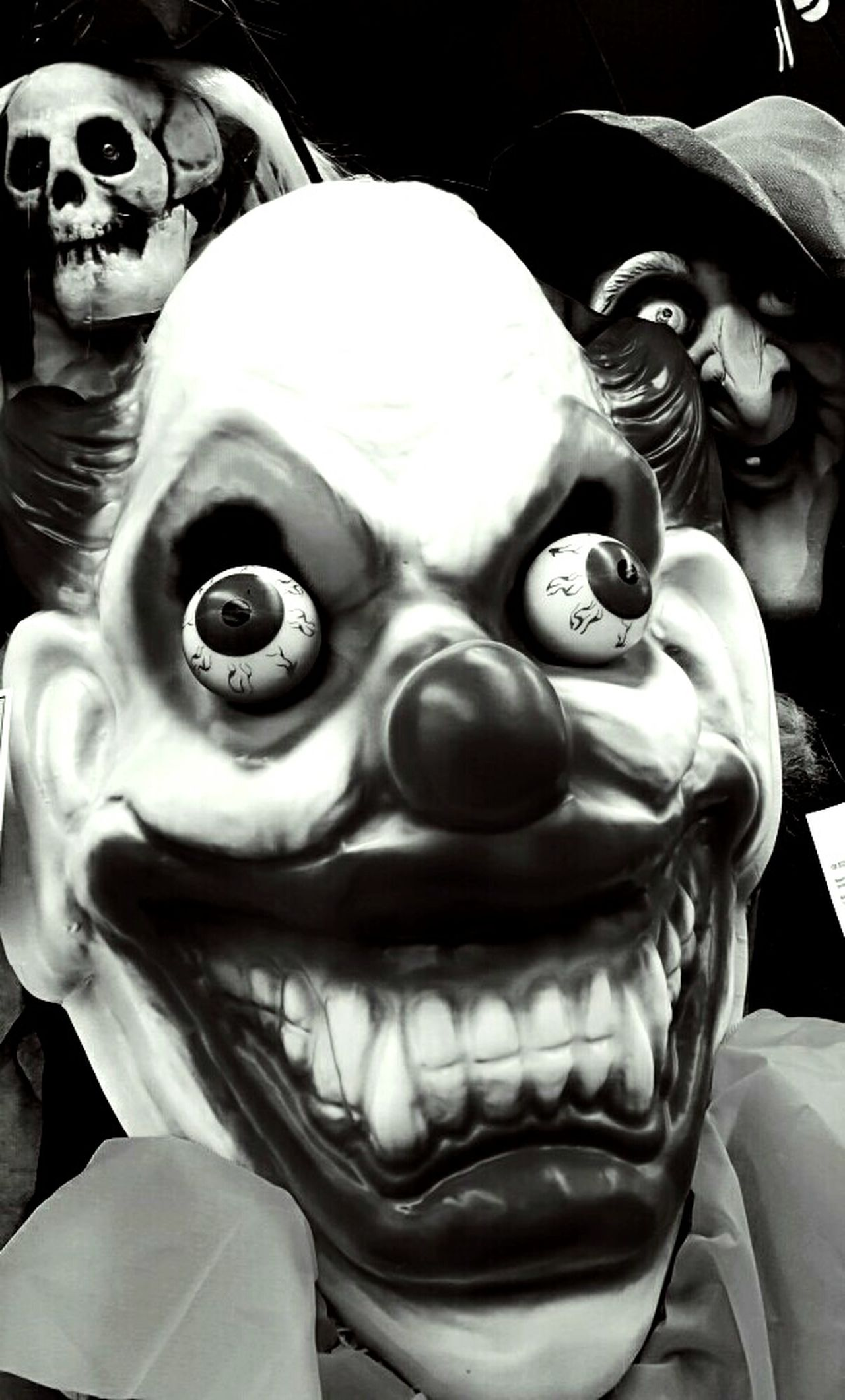 Halloween_Collection Happy Halloween Frightnight Scary Clowns Masks Freaky Capture The Moment
