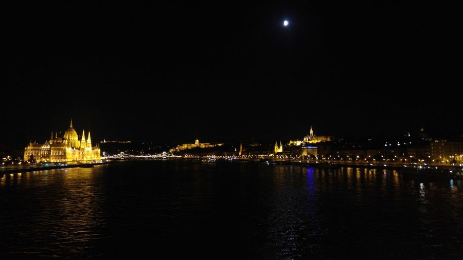 Budapest by night Night Reflection City Illuminated Cityscape Travel Destinations No People Architecture Sky Water Outdoors Budapest Danube Danube In Budapest Night Lights Night Photography Cityscape City Lights River River View Bridges Bridge Budapest, Hungary Budapest Love 💟 Budapest By Night
