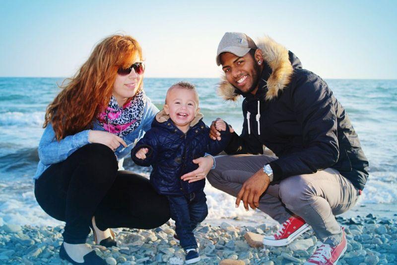 Happiness Child Beach