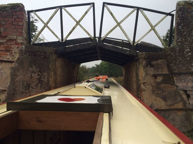 Boats Bridge Barge Canal