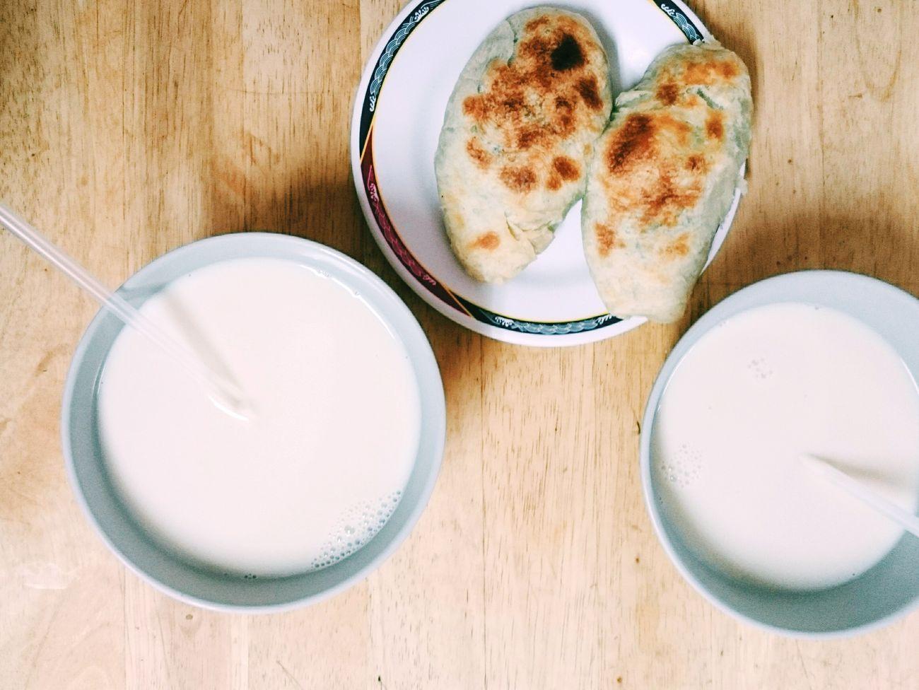 🍴。 Breakfast 勝利早點 豆漿 Soymilk