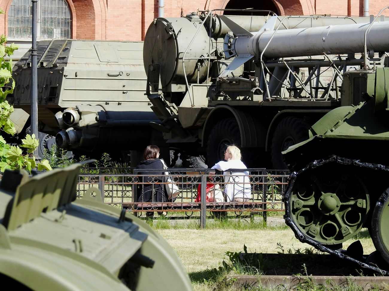 We Want Peace Magic Park Technology Guns Tanks Rocket