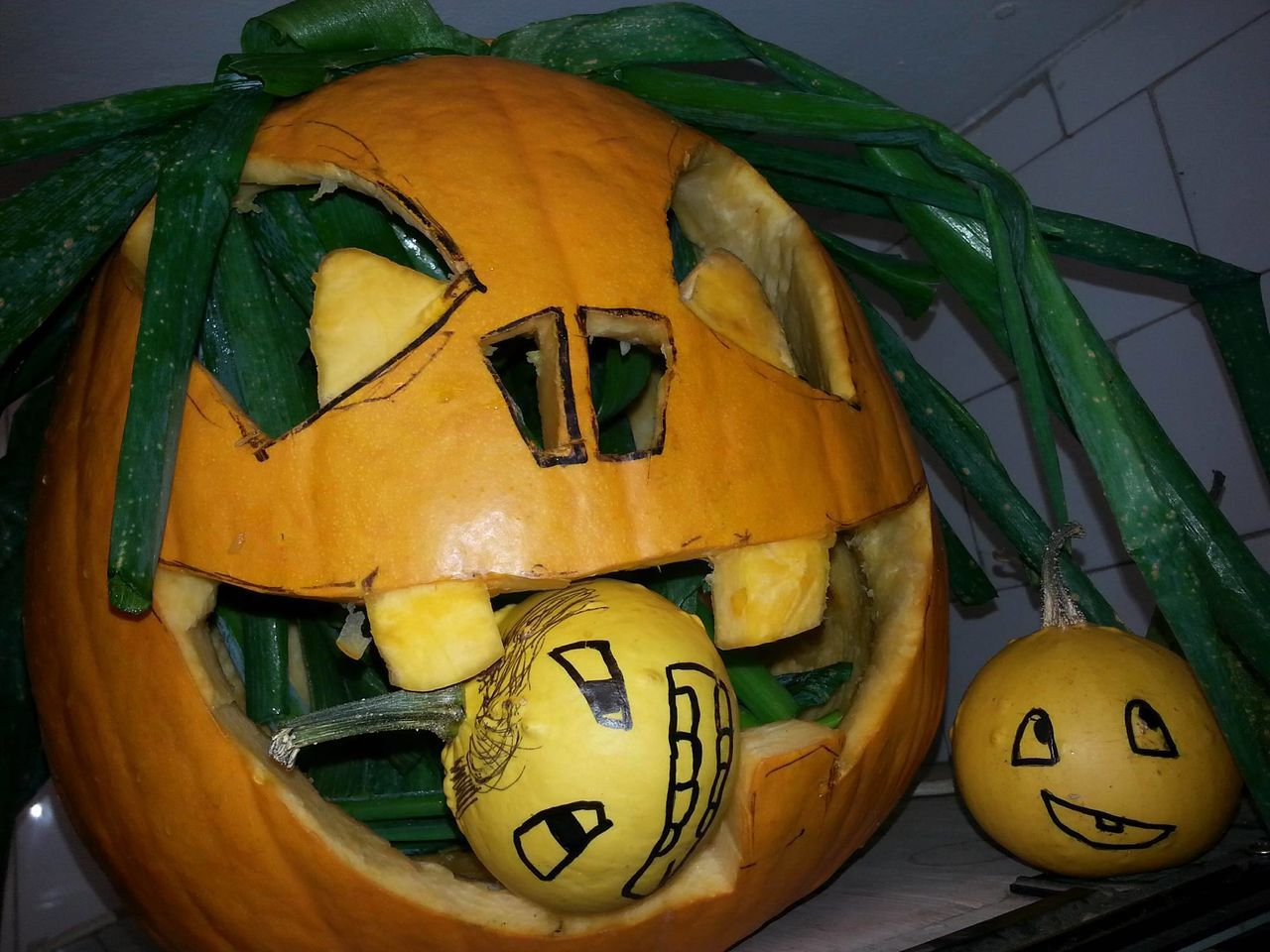 Carved Hallo Halloween EyeEm Halloween Horrors Halloween_Collection Hand-carved Jack O Lantern Pumpkin Pumpkins