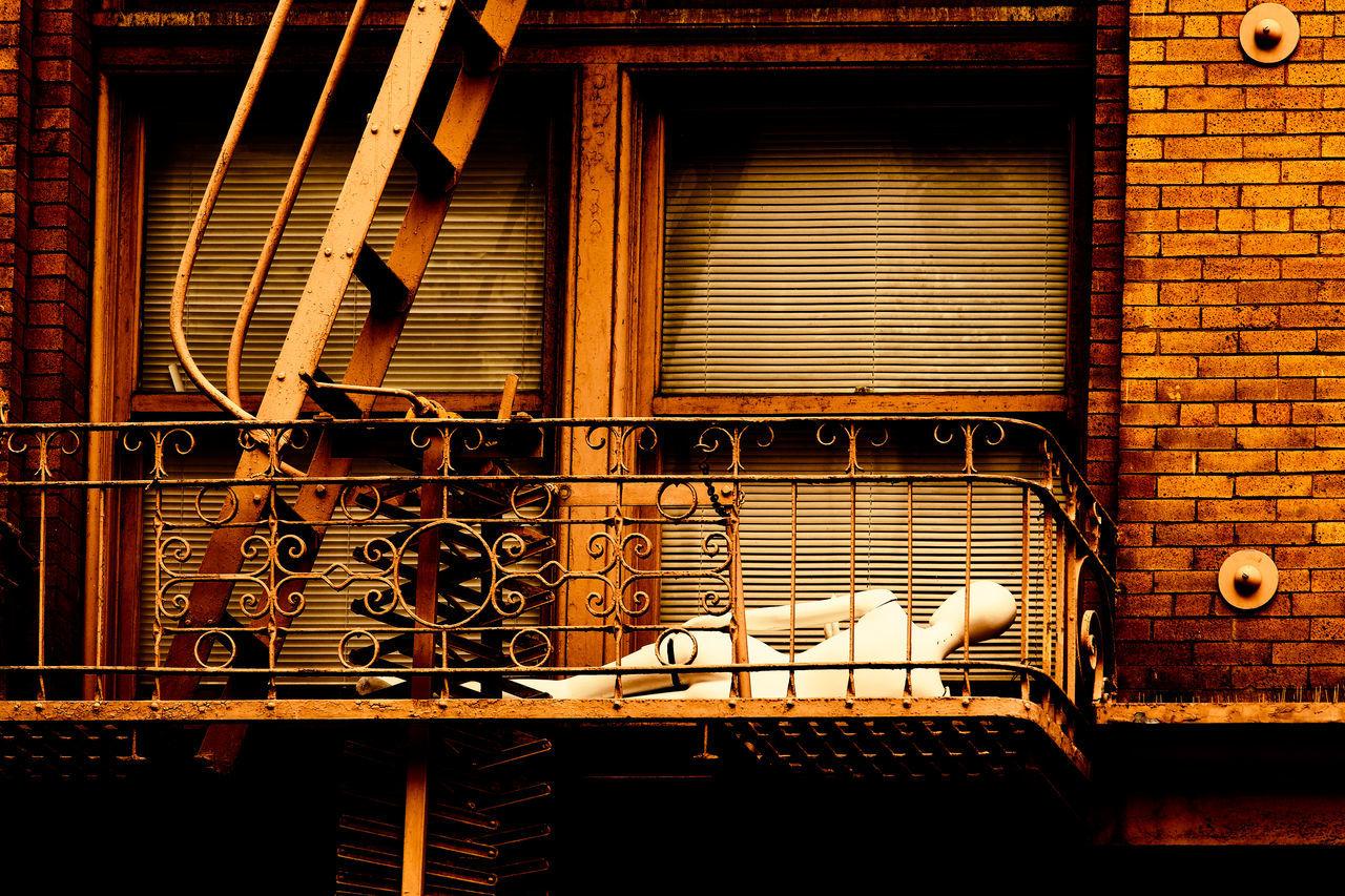 Mannequin In Balcony