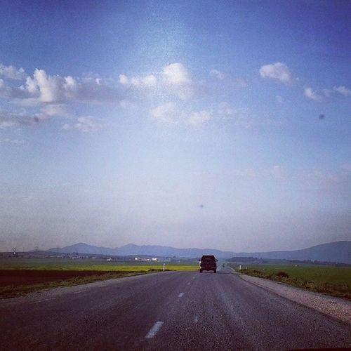 On the road to Kef Sky Instasky Road bluesky friends instafriend