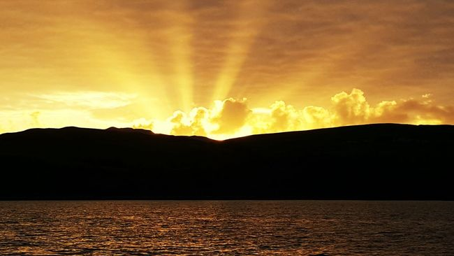 Campbeltown Scotland Mull Of Kintyre Sailing Enjoying Life Phone Photography Tim Bailie Sky And Sea Sunset EyeEm Best Shots - Sunsets + Sunrise Skyporn