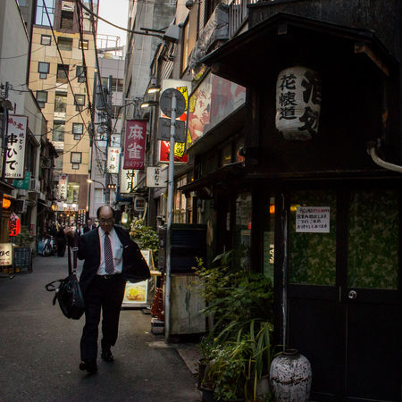 Non-western Script Men Street Shinbashi Sign Alley Alleyway Bar Business People Signboard Real People Suits  Tokyo Lantern Paperlantern Japanese Culture Japanese  Street Photography Businessman City Japan Japan Photography Urban Exploration The Street Photographer - 2016 EyeEm Awards