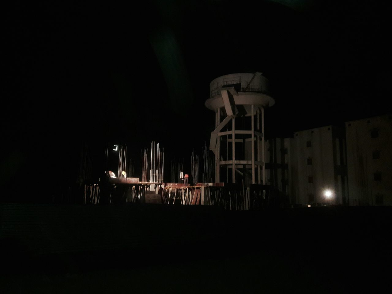 Night Architecture Built Structure Sky Illuminated Outdoors Astronomy Construction No People