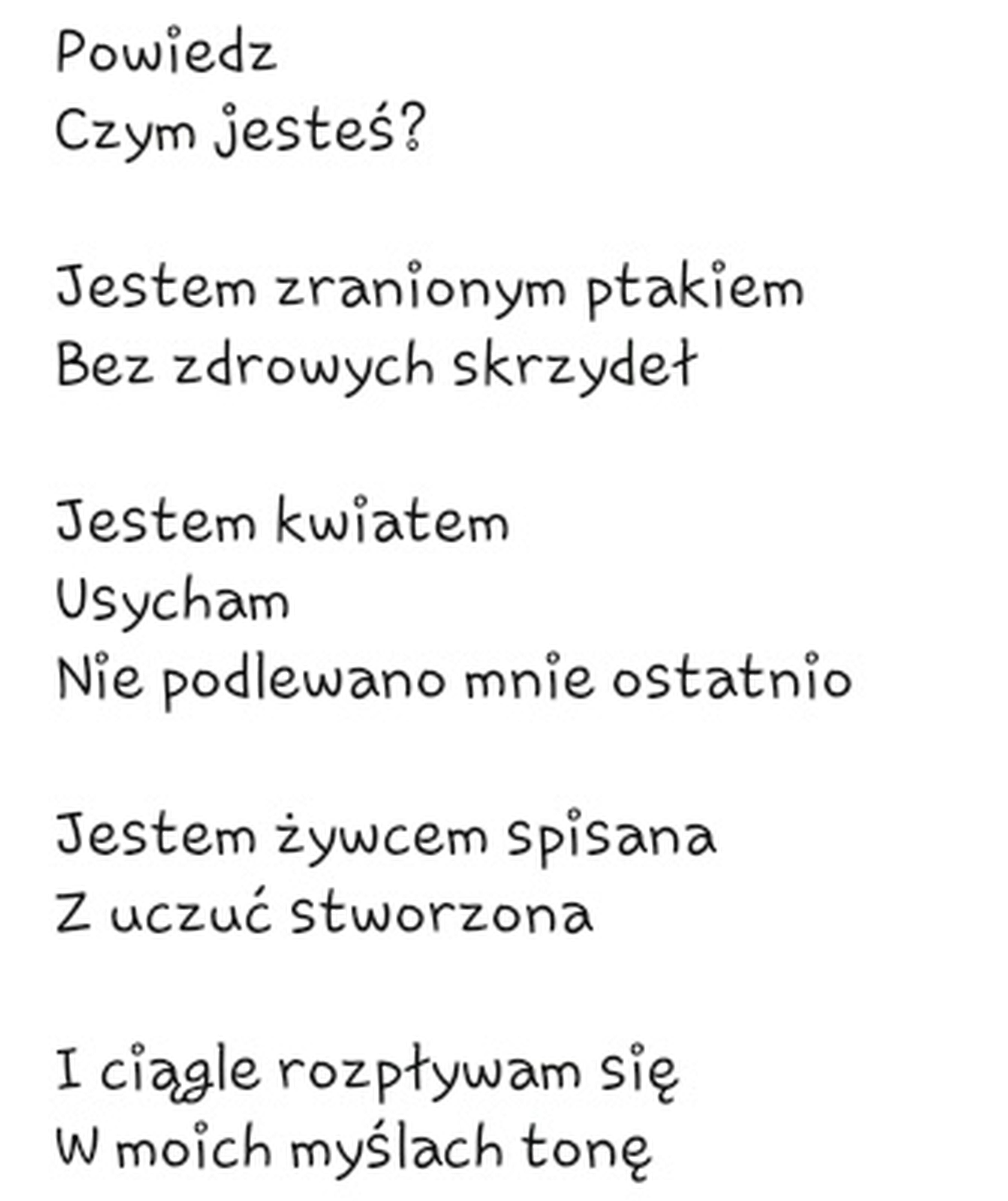 😌powiedz Czym Jestes