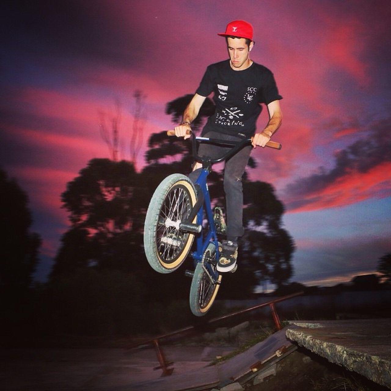 Gareth Killeen riding @loot_brand secret location, Gottabeinittowinit Bmx  Street Shooteditsleeprepeat Rebelmediaguys