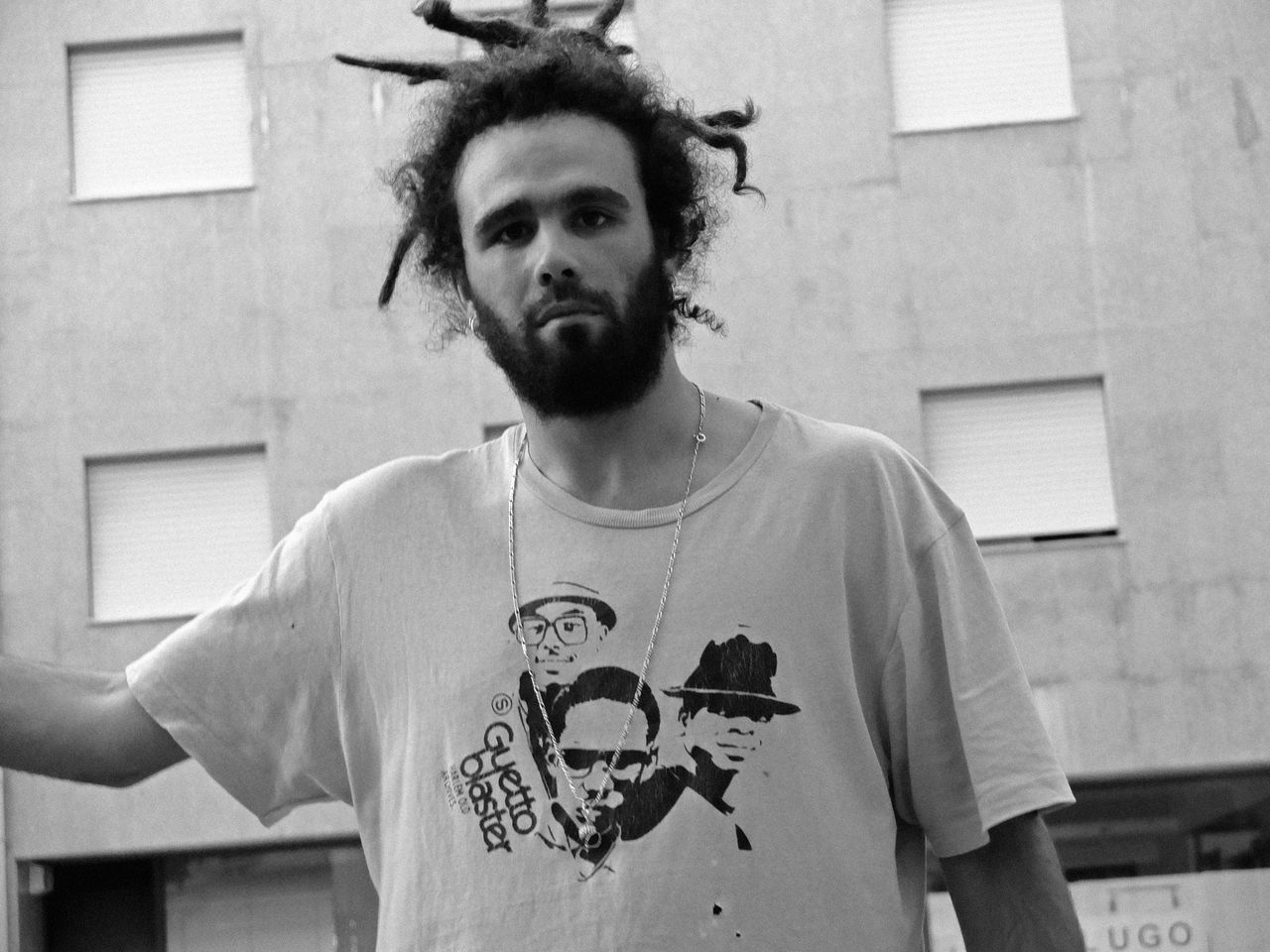 Blackandwhite Brother Casual Clothing Guettoblaster Lifestyles Portrait Portugal RASTA The Portraitist - 2016 EyeEm Awards Monochrome Photography