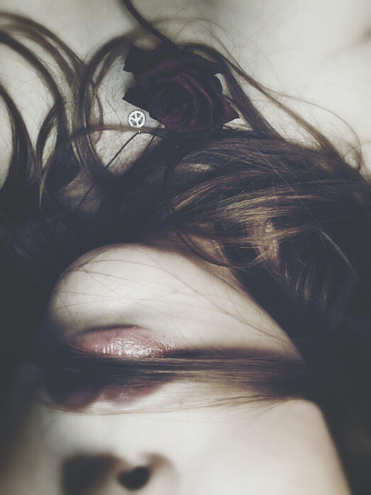 Beautiful stock photos of lips, Beauty, Brown Hair, Caucasian, Close-Up