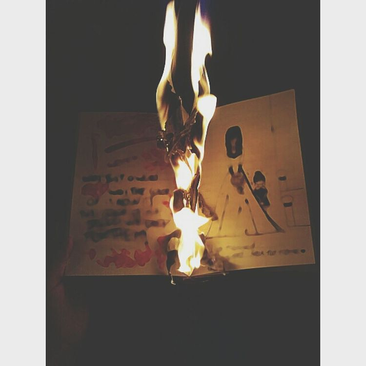 My black book♥ Photography BURN! Fire Memories