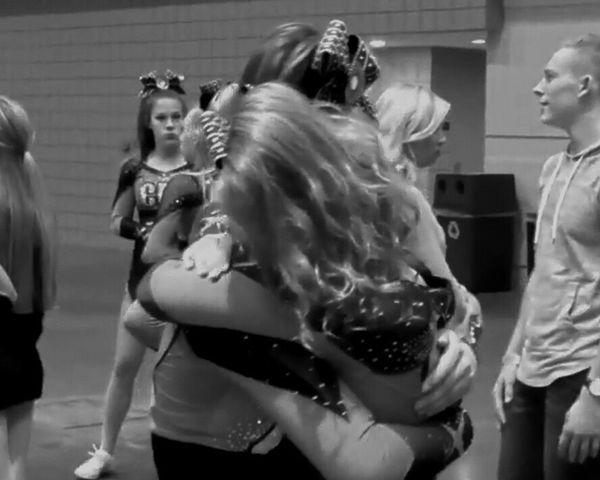 It was you and me since way back when❤️ Real People Lifestyles Indoors  Women Day Bestfriend Cousin Cheerleading Cheerleading Is A Sport Cheer Life Cheer Extreme  Kiwis Junior Level 4