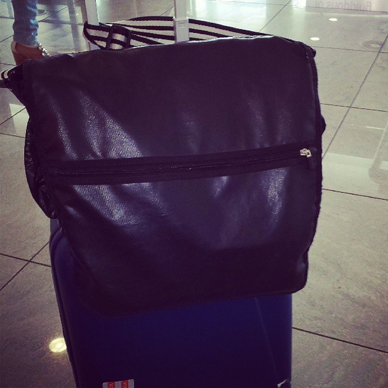 bag, indoors, luggage, no people, clothing, black color, suitcase, day, close-up