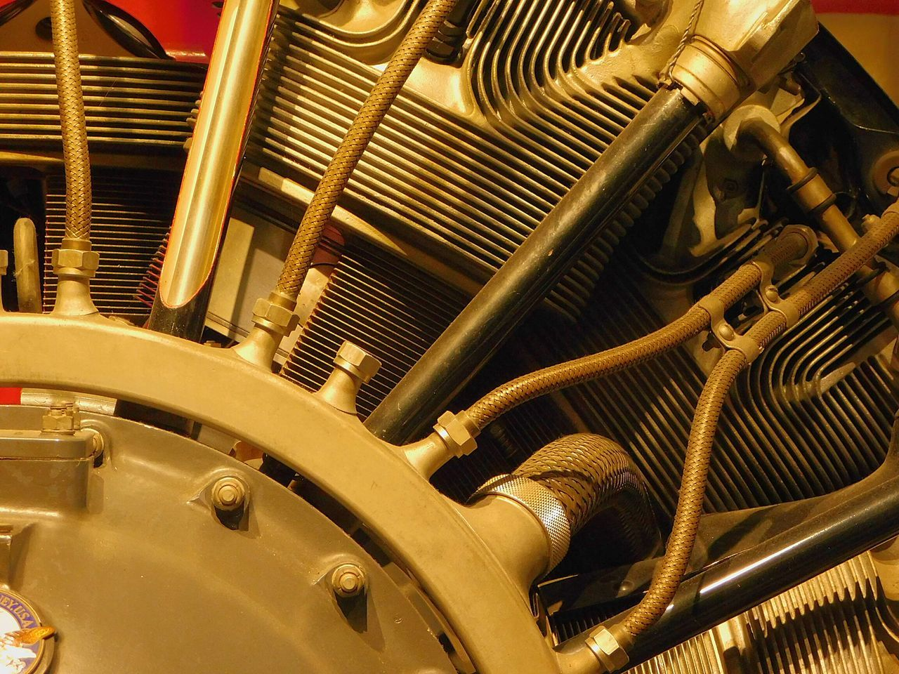 Full Frame Close-up No People Engine Aircraft Aviation Pattern