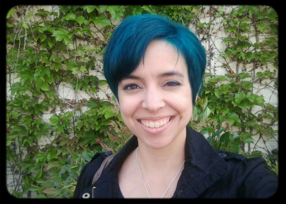 And post-trim. It's a little more teal. Not quite as blue as it looks in this pic