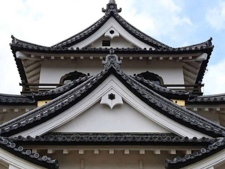 先日ちょっと彦根に行ってきた♫ 彦根城 城 Hikone Castle Japanese Castle Architecture Old Architecture Symmetry Geometry Geometric Shapes Travel Photography EyeEm Best Shots