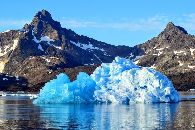 Iceberg in Tasiilaq Greenland Beauty In Nature Day Glacial Glacier Global Warming Ice Iceberg Landscape Melting Mountain Nature No People Outdoors Reflection Scenics Sea Sky Tasiilaq Wallpaper