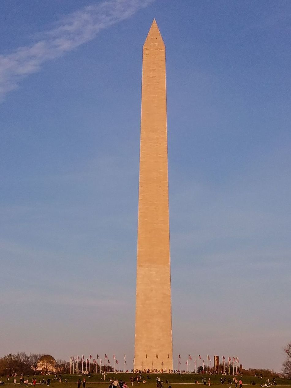 Outdoors Sky Low Angle View People People In The Background Washington, D. C. Washington Monument, Washington DC Washington Monument EyeEm Best Shots - Landscape Outdoors Photograpghy  Monuments Of The World Monuments & Statues Architecturephotography