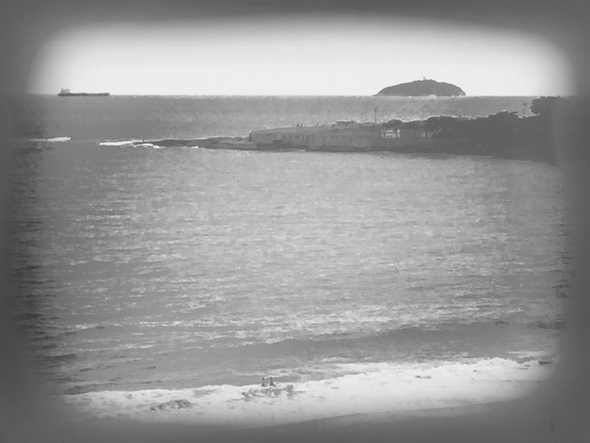 Beach view. Hipstamatic Blackandwhite Black And White NEM Black&white Life Is A Beach