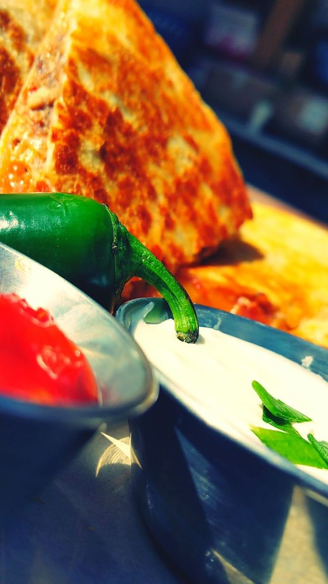 MmmLunch Time! Quesedilla Peppers Mexican Food Homemade
