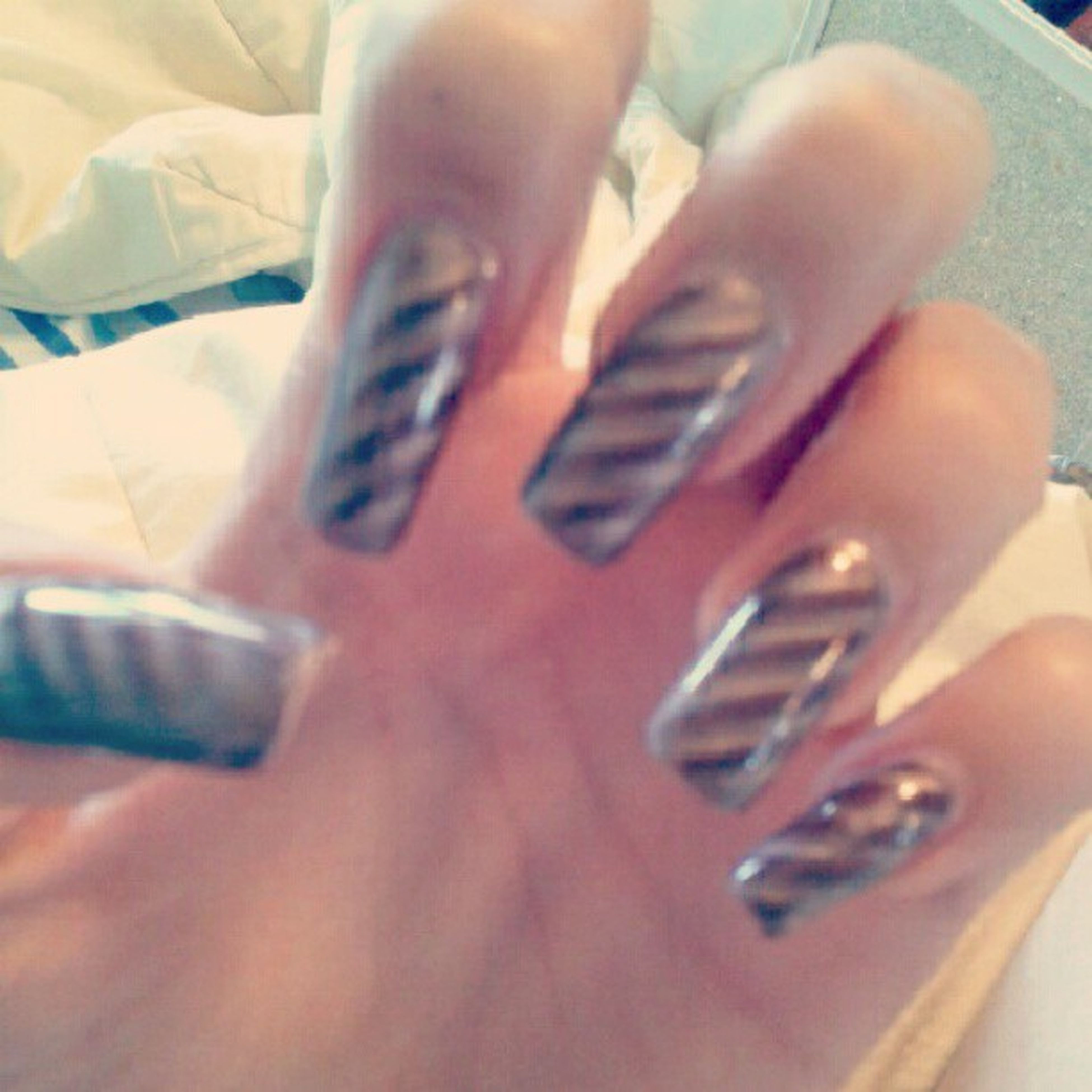 meow =) Magnetnailpolish Beautiful Cute Longnails
