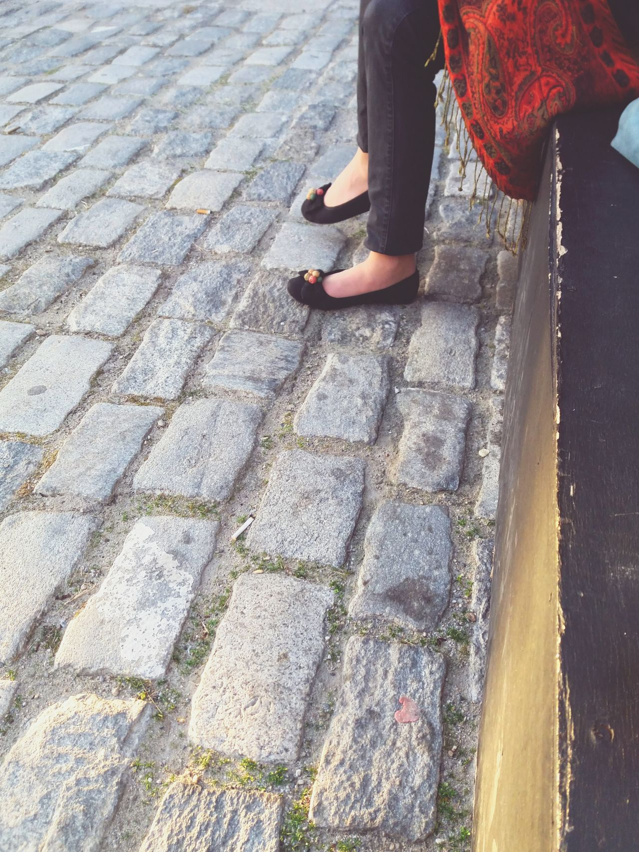 Still for a while -- DayshotsFromwhereistand Folk Culture Ballerinas Getting Away From It All Kinfolk Paisley Pattern Green Grass Snapshots Of Life Skg Autumn Colors Tiff56 Filmfestival Waiting ... Streetphoto_color Street Style Folk Fall2015 NOMAD TheSidewalksOfTheCity Thessaloniki Greece Vintage Style Street Portrait Anytone