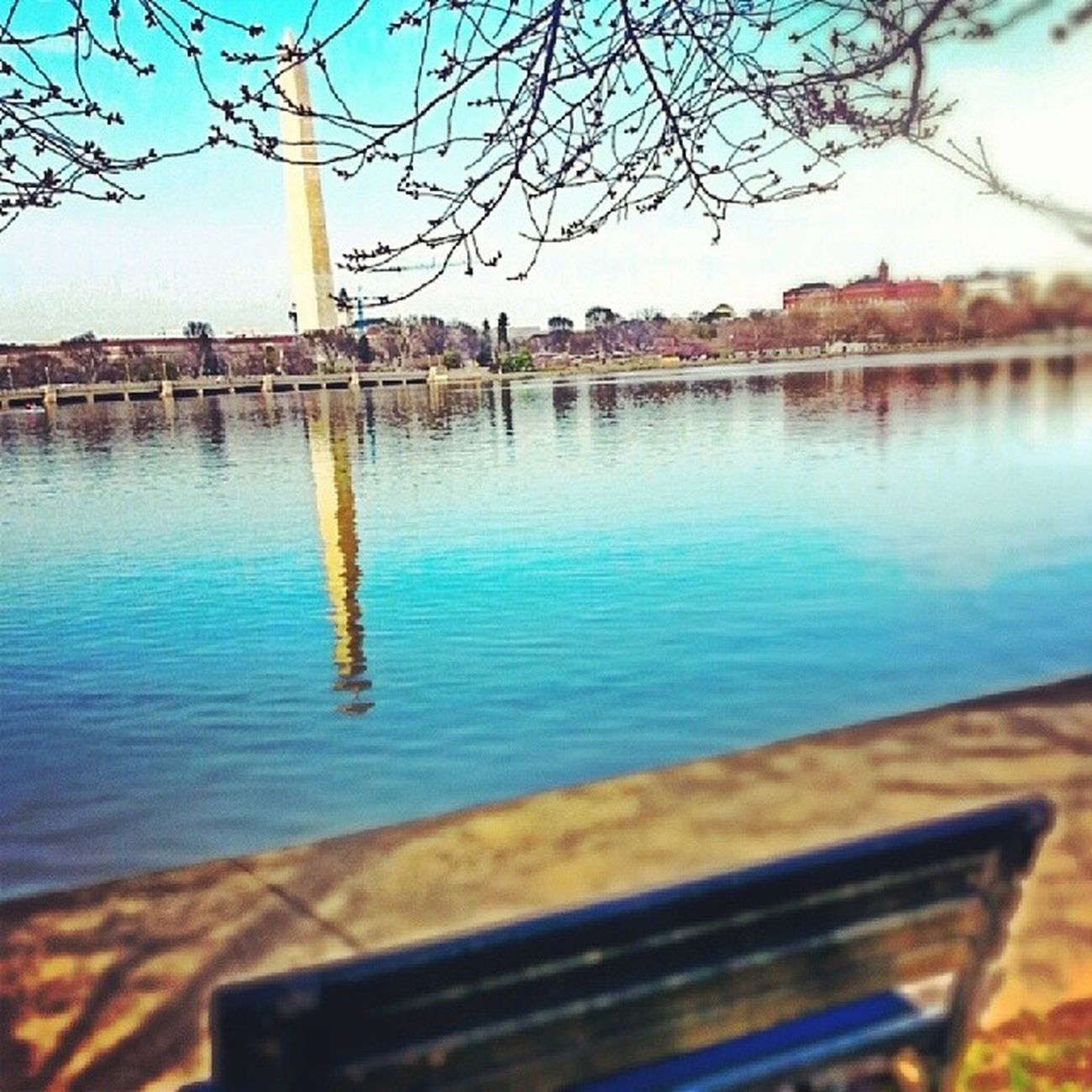Even with all the tourists, you can still find some place quiet. Why I love DC *..