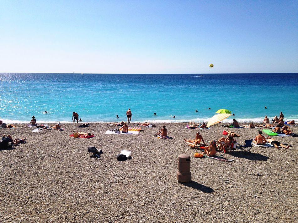 Beach Sea And Sky Côte D'Azur