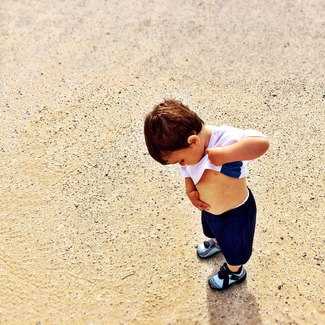 Beautiful stock photos of boy, Abdomen, Beach, Boys, Casual Clothing