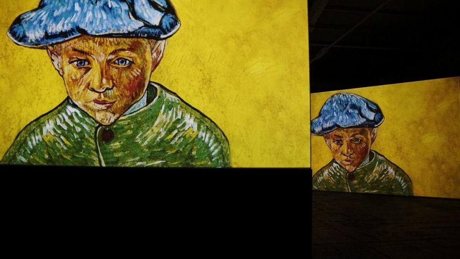 Arts Culture And Entertainment Art Art Photo Nizniy Novgorod Exhibition Canvases Vincent Willem Van Gogh Multi Colored Art Photgraphy Fine Art Painting Painted Image Vincent Van Gohg Live Canvases Exhibition Of Pointings Portrait Van Gogh Impressionisme Portrait Of Camille Roulin Arles Arles 1888-89