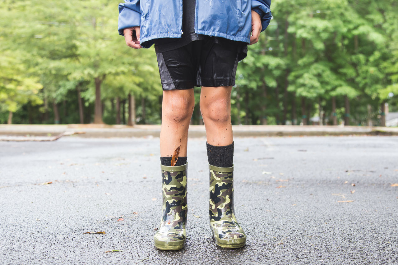 Human Body Part Human Leg One Person Outdoors People Rain Boots Rainy Day Shoe Standing Fresh On Market 2017