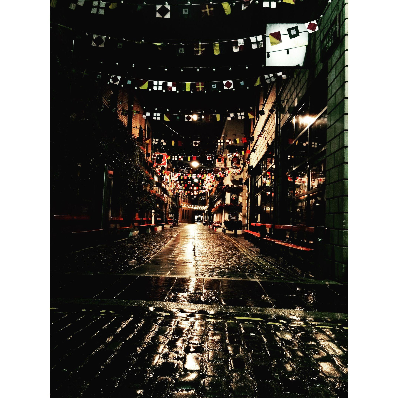 Belfast CathedralQuarter Flags Street Cobblestone Streetphotography