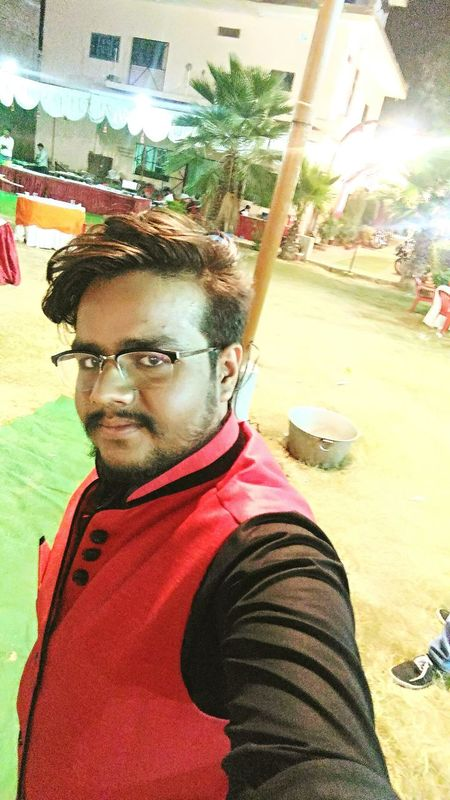 try to click my self in a party... :-) Adulthood Close-up Eyeglasses  Formal Clothing Garden Photography Leisure Activity Lifestyles Nature One Person Outdoors People Portrait Real People Selfie Tree Trees Young Adult The Portraitist - 2017 EyeEm Awards