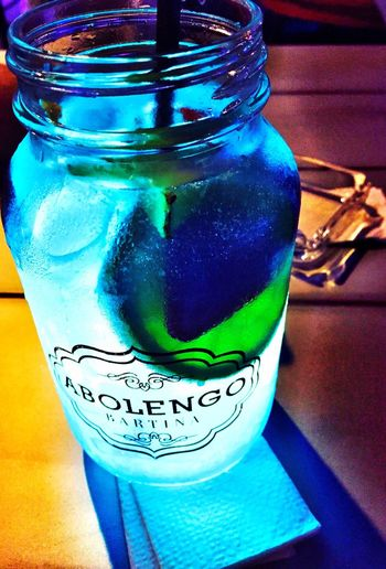 Abolengo Blue Alcohol Delicious Hanging Out Throwback 👌
