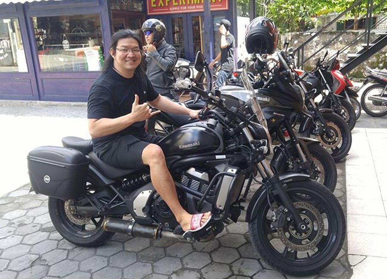 Hmmm... Motorcycle Kawi Kawination Vulcan Vulcan650 Kawasaki Val  2016 😚 RideOrDie