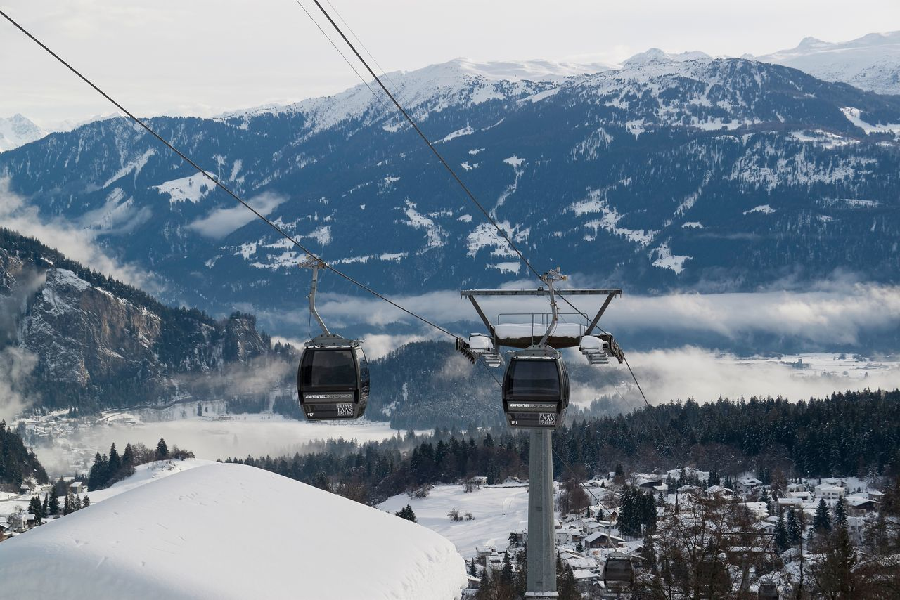 Beauty In Nature Cold Temperature Day Frozen Landscape Mountain Mountain Range Nature No People Outdoors Overhead Cable Car Range Scenics Ski Lift Sky Snow Snowcapped Mountain Tranquil Scene Tranquility Transportation Weather Winter
