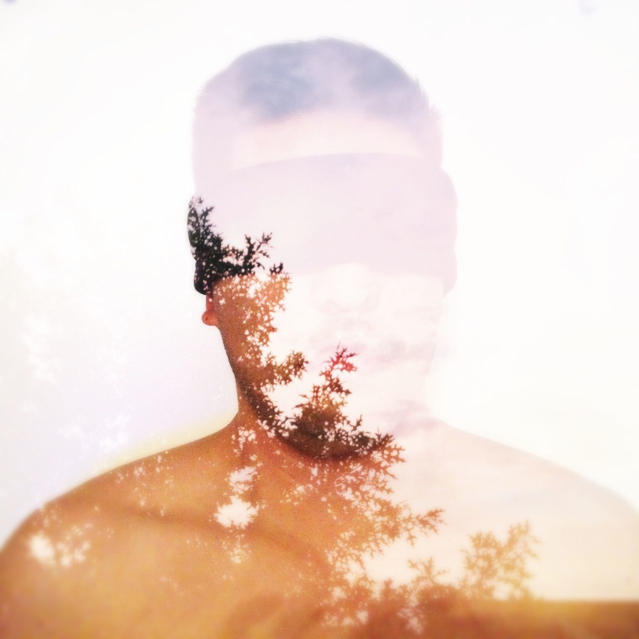Out of sight, out of mind Selfportrait Double Exposure Vscocam Shootermag