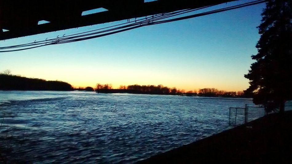 Sunset Winterscape