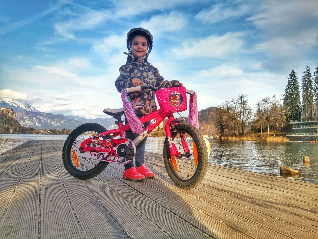 Bike Bike Ride Kids Scott Scottbikes Scottbike Contessa Spring Springtime Lake Lakebled Lake Bled, Slovenia Showcase April